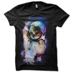 tee shirt chat de l'espace...