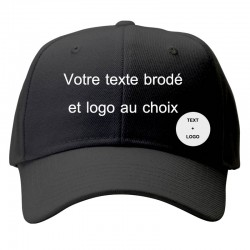 customize black cap