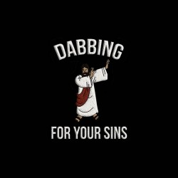jesus dabbing for your sins sublimation shirt