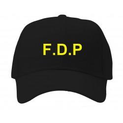 casquette F.D.P noire