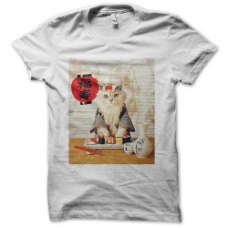 cat sushi sublimation shirt