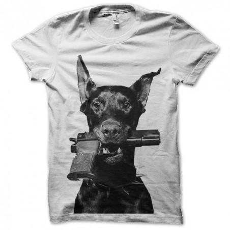 Dog gun sublimation shirt