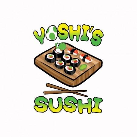 Tee shirt Yoshi's Sushi  sublimation