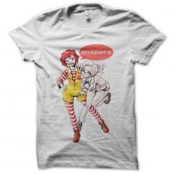 tee shirt loving it manga...