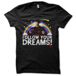tee shirt freddy follow...