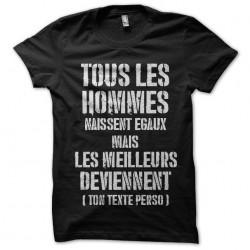 tee shirt tous les hommes...