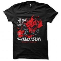 samurai night city tshirt...