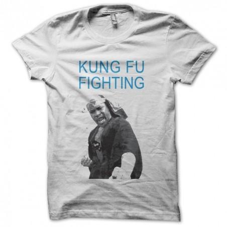 Kung Fu Fighting t-shirt Carl Douglas fan art white sublimation