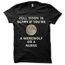 full moon werewolf tshirt...