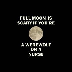 full moon werewolf tshirt sublimation