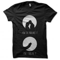 story of romance tshirt...