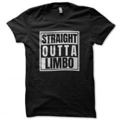 straight outta limbo tshirt...