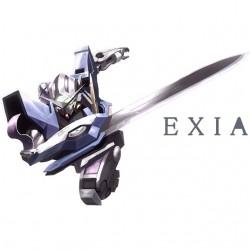 Tee shirt Gundam Exia...