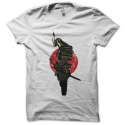 Tee shirt tatouage samourai avec levé de soleil  sublimation