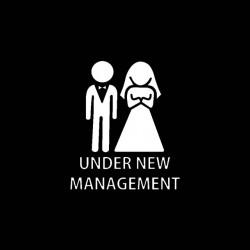 under new management wedding tshirt sublimation