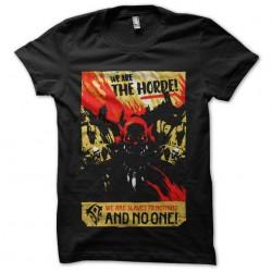 tee shirt we are the horde...