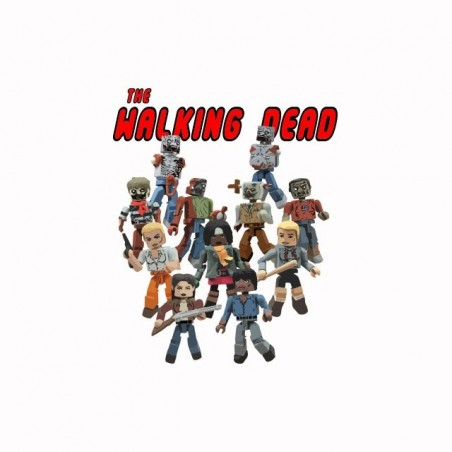 Tee shirt The Walking Dead parodie Lego  sublimation