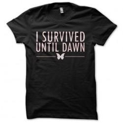 tee shirt i survived until...