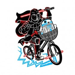 Dark vader and R2d2 T-shirt...