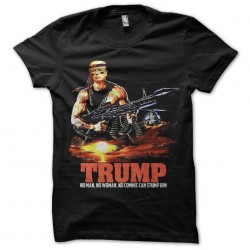 rambo trump tshirt sublimation
