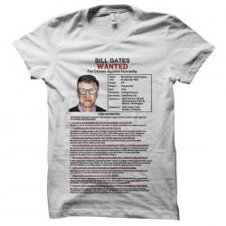 bill gates wanted tshirt...