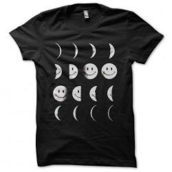 moon smiley tshirt sublimation