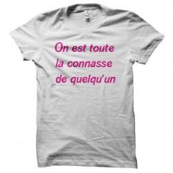 tee shirt On est toute la...