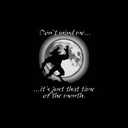 werewolf advice tshirt sublimation