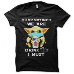 beer and quarantine tshirt...