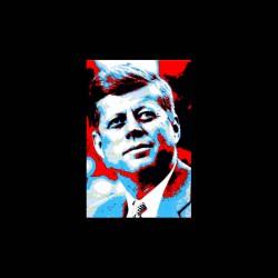 John Fitzgerald Kennedy tshirt sublimation