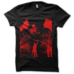 tee shirt it vs ash evil...