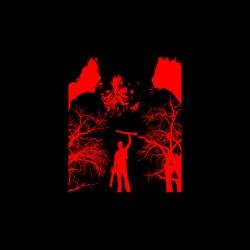 it vs ash evil dead tshirt sublimation