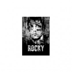 rocky balboa poster tshirt sublimation
