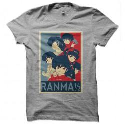 ranma 1/2 tshirt sublimation