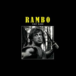 rambo first blood tshirt sublimation