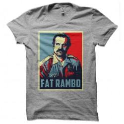 fat rambo tshirt sublimation
