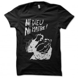 no god no master tshirt...