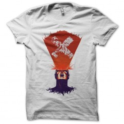 Cyclops t-shirt and light rays white sublimation