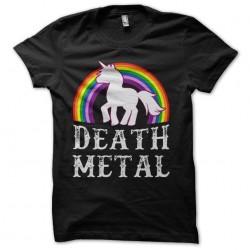 death metal unicorn tshirt...