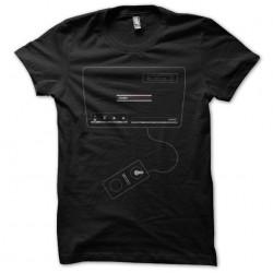 Coleco Gemini black sublimation t-shirt