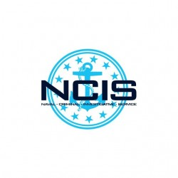 NCIS US Navy symbol white...