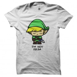 tee shirt i am not zelda...