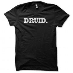 tee shirt druid sublimation
