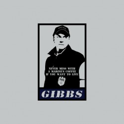 NCIS Gibbs parody Obey gray sublimation t-shirt