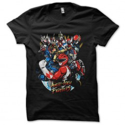 tee shirt toku fighters...