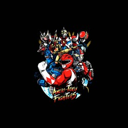 toku fighters tshirt sublimation