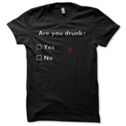 tee shirt are you drunk qcm...