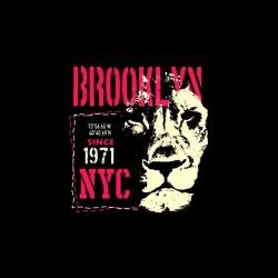 brooklyn nyc tshirt sublimation