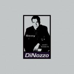 Tee shirt NCIS Tony Dinozzo parodie Obey gris sublimation
