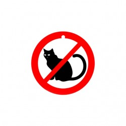 cats not allowed tshirt sublimation